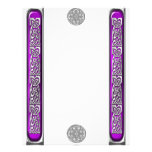 Amethyst and Silver Celtic Knotwork Letterhead