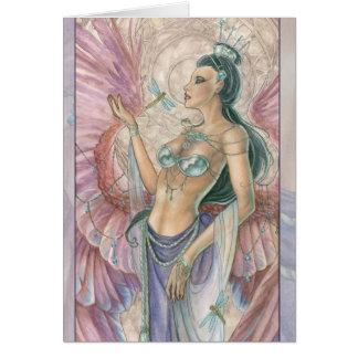 Amethyst Angel Greeting Card