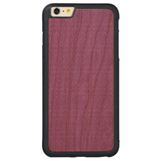 Amethyst calligraphic pattern carved® cherry iPhone 6 plus bumper
