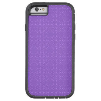 Amethyst calligraphic pattern tough xtreme iPhone 6 case