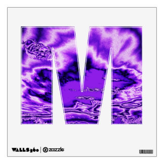 Amethyst Clouds Wall Decal