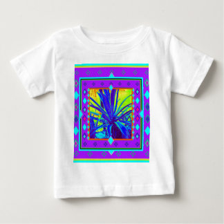 Amethyst Color Nlue Agave Gifts by Sharles Baby T-Shirt