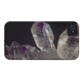 Amethyst Crystals iPhone 4 Case-Mate Cases