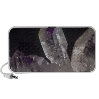 Amethyst Crystals Portable Speakers