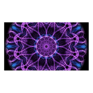 Amethyst Desire Kaleidoscope Double-Sided Standard Business Cards (Pack Of 100)