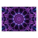 Amethyst Desire kaleidoscope Greeting Card