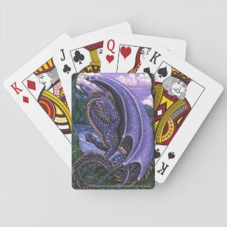 Amethyst Dragon February Birthstone Playing Cards