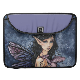 Amethyst Dragon Gothic Fairy and Dragon Sleeve For MacBook Pro