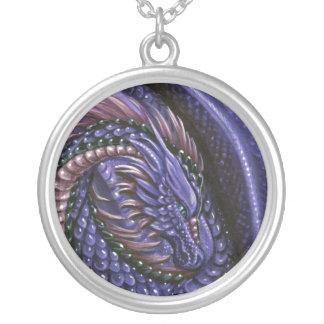 Amethyst Dragon Necklace