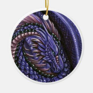 Amethyst Dragon Ornament