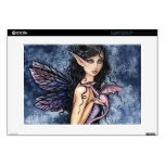 "Amethyst Dragon Purple Fairy Fantasy Art Skin For 15"" Laptop"