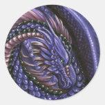 Amethyst Dragon Sticker