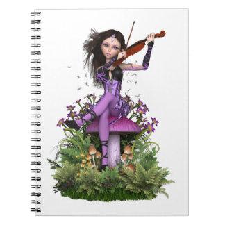 Amethyst Fairy ~ Sweet Melody Notebook