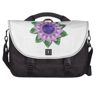 Amethyst flower gifts bag for laptop