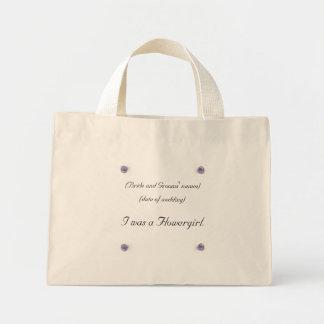 Amethyst Flowergirl Bag