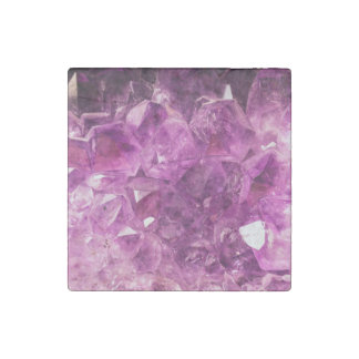 Amethyst Gem Stone Stone Magnet