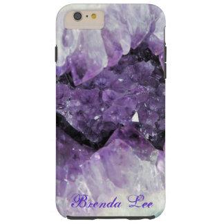 Amethyst Geode 3D iPhone 6 Pluss case Personalize*