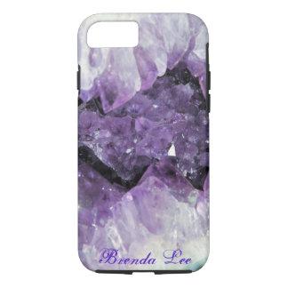 Amethyst Geode 3D iPhone 7 case *