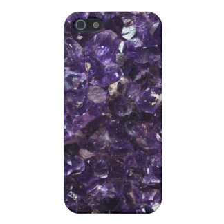 Amethyst Geode Cover For iPhone SE/5/5s