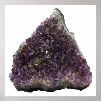 Amethyst Geode: Trinity Poster
