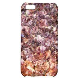 Amethyst Geode Up Close iPhone 5C Covers