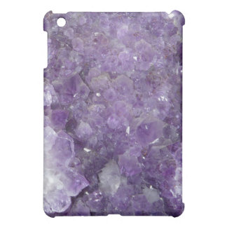 Amethyst Geode - Violet Crystal Gemstone Cover For The iPad Mini