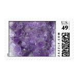 Amethyst Geode - Violet Crystal Gemstone Stamps