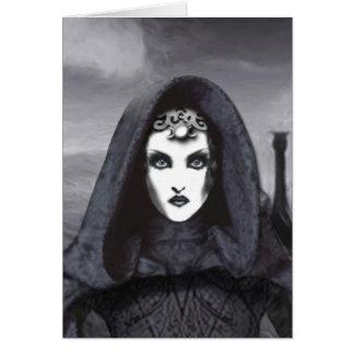 Amethyst Goddess Art Card - UR A Goddess