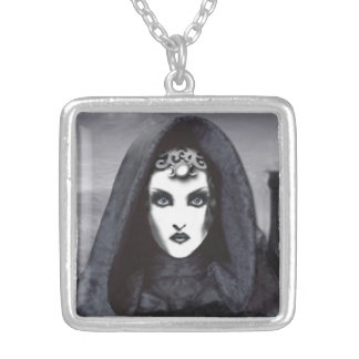 Amethyst Goddess Art Necklace - Avalon