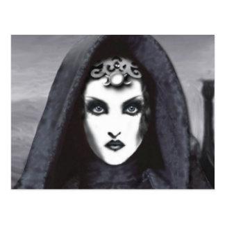 Amethyst Goddess Art Postcard