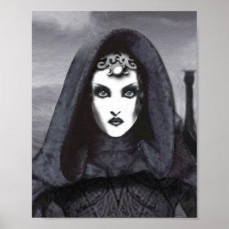 Amethyst Goddess Art Print - Avalon Inspired