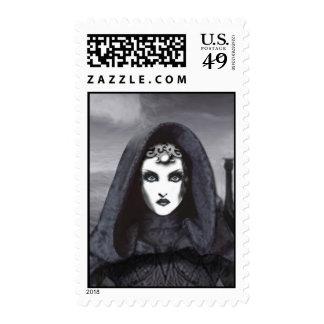 Amethyst Goddess Postage Stamps