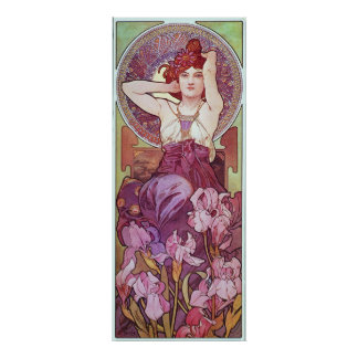 Amethyst Goddess Poster