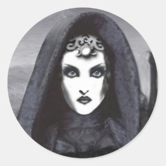 Amethyst Goddess Sticker Label