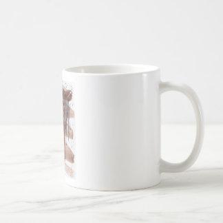 Amethyst Horse On Chocolate Wash Coffee Mugs