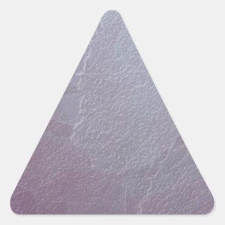 Amethyst Ice Abstract Art Triangle Sticker