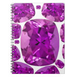 Amethyst Jewels Birthstone  by Sharles Notebooks