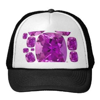 Amethyst Jewels Birthstone  by Sharles Trucker Hat