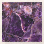 "Amethyst Magic Marble Glass Coaster<br><div class=""desc"">Amethyst Magic Marble Glass Coaster</div>"