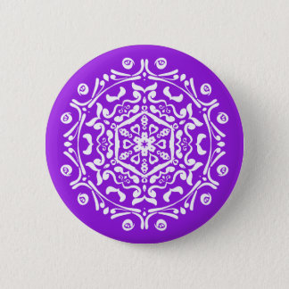 Amethyst Mandala Button