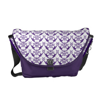 Amethyst Pattern Courier Bags