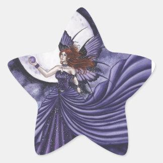 Amethyst Pegatina En Forma De Estrella