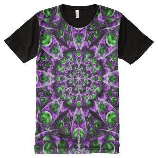 Amethyst Portal Mandala All-Over Print Shirt