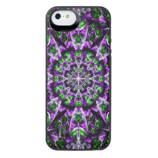 Amethyst Portal Mandala iPhone SE/5/5s Battery Case