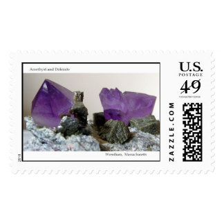 Amethyst  stamps