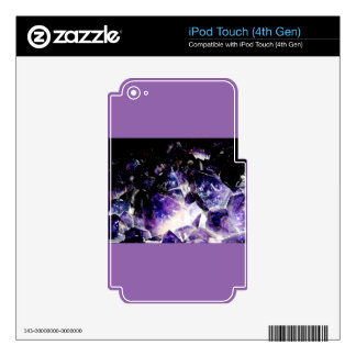 Amethyst Products By Bliss Travelers Skins For iPod Touch 4G
