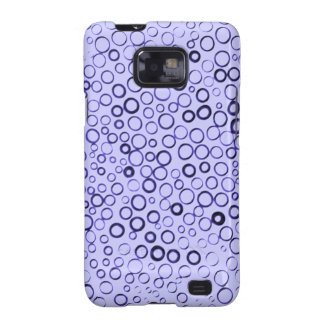 Amethyst Purple Circles Tiny Bubbles Case-Mate Samsung Galaxy S2 Cover