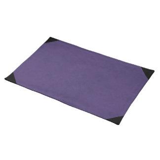 Amethyst Purple Color Velvet Custom Home Casino Cloth Place Mat