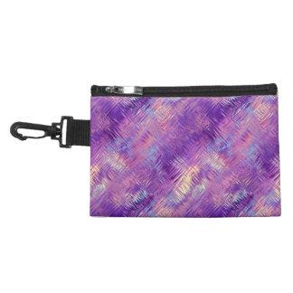 Amethyst Purple Crystal Gel Texture Accessories Bags