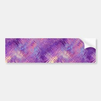 Amethyst Purple Crystal Gel Texture Bumper Sticker